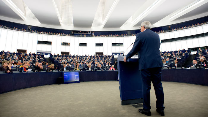 Jean-Claude Juncker, President of the EC, deliver State of the Union Address 2017