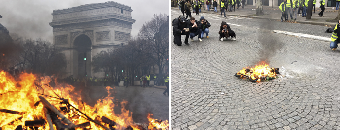 fake-protest-fire-photo-paris21
